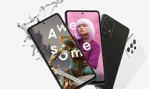 Smartfon Samsung Galaxy A52s 5G SM-A528B 6/128GB Black 120Hz + pendrive Samsung 64GB BAR Plus Titan Gray 300MB/s (x-kom)