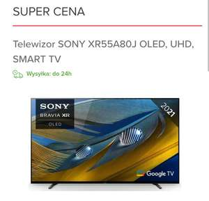 Telewizor SONY XR55A80J OLED