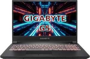Laptop Gigabyte G5 144hz rtx3060/16gb zwrot 450zł na kart podarunkowe