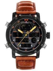 Zegarek męski Naviforce NF9160 z pudełkiem prezentowym oraz grawerem gratis @ Allegro