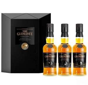 Whisky Glenlivet Spectra...Degustacja Glenlivet Spectra 3 x 200 ml Aleeks Alkohole