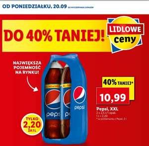 Pepsi XXL 2x2,5l @lidl
