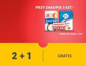 Cukier biały 2+1 gratis - Lidl Plus