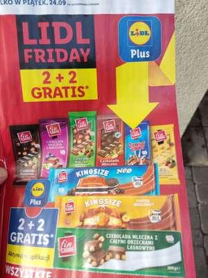 Wszystkie czekolady Fin Carre 2+2 gratis Lidl
