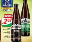 Piwo Niechanowo browar w Niechanowie but. bezzw. 0,5L Dwa rodzaje \Dino\