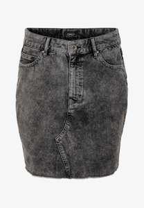 ONLY Spódnica mini - czarny denim, r. 34-42 @ZalandoLounge