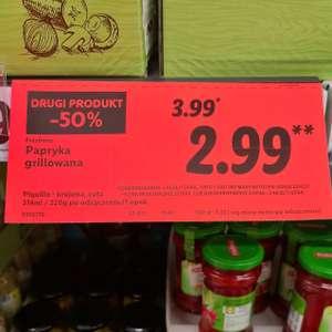 Papryka Grillowana w słoiku w Lidlu -50% do jutra!