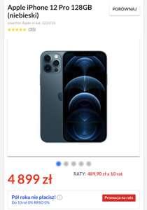 Apple iPhone 12 Pro 128GB (niebieski)