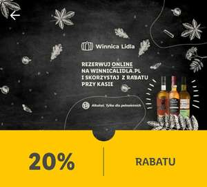 20% rabatu na wszystkie whisky w WinnicaLidla.pl
