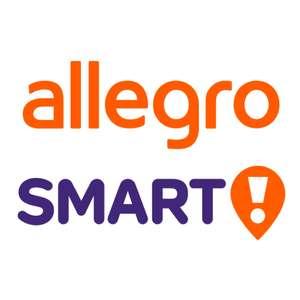 Darmowa dostawa kurierem w ramach Allegro Smart! już przy zakupach za 40 zł, zamiast za 80 zł