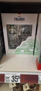 Wódka Finlandia LIME 500ml + kieliszek