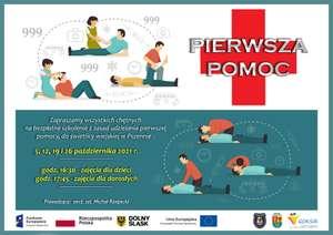 Bezpłatne szkolenie z pierwszej pomocy dla dzieci i dorosłych - okolice Świdnicy