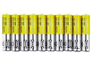 IKEA ALKALISK 10 szt. Baterie alkaliczne paluszki AAA 1.5V