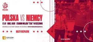 Bezpłatne bilety na mecz reprezentacji U20 Polska - Niemcy