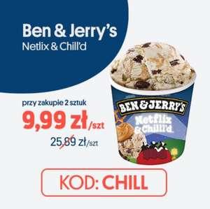 JOKR / lody Ben & Jerry's Netflix & Chill'd