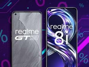 2 lub 3 raty gratis przy zakupie smartfonów realme na raty 0% (realme GT Master Edition za 1 274,15 zł) @x-kom