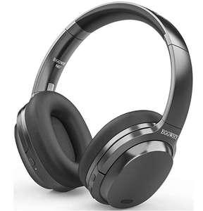 EGGWHY bezprzewodowe słuchawki nauszne Bluetooth z mikrofonem