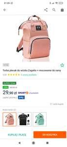 Torba- plecak do wózka Zagatto