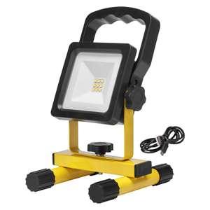 Akumulatorowa lampa robocza LED