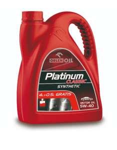 Olej syntetyczny Orlen Platinum 5w40 4,5l Biedronka