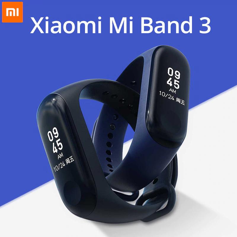 XIAOMI Mi Band 3 + folia ochronna za 75zł @aliexpress