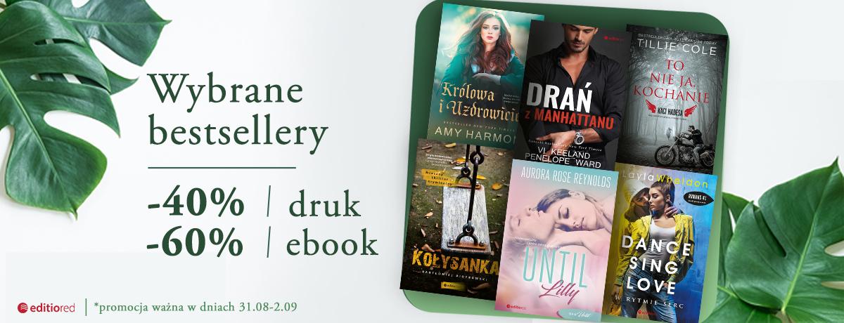 Bestsellery 40/60% taniej (druk/ebook) @ Editio