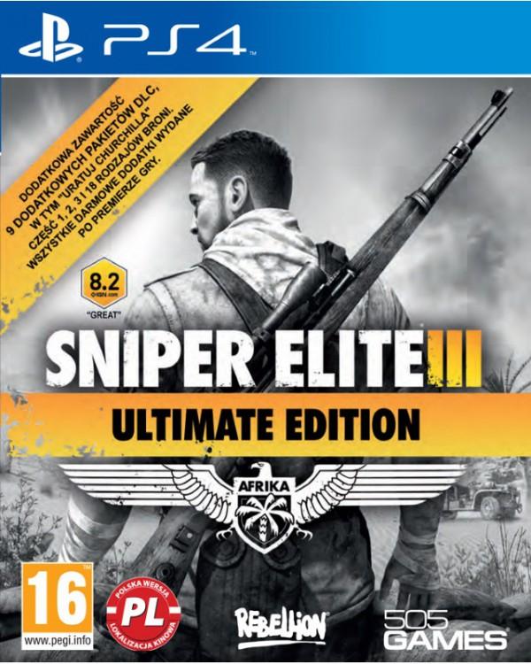 Sniper III Ultimate (PS3/Xbox 360/PS4/Xbox One) za 79,90zł/109,90zł @ echogames.pl