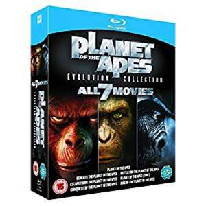 Planet of the Apes: Evolution Collection (Blu-ray) za ok. 56zł @ 365games