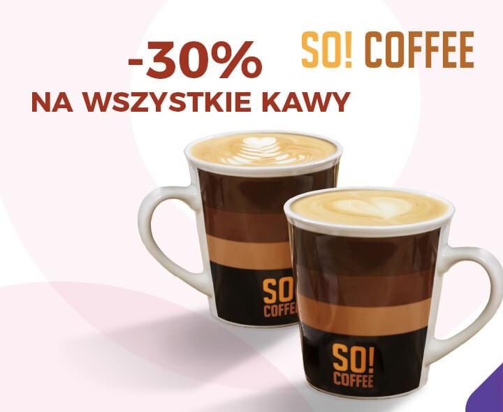 -30% na wszystkie kawy So! Coffee @ Goodie