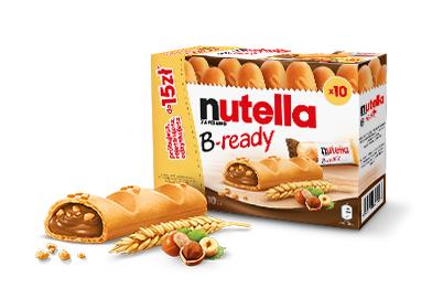 Zwrot do 15zł za zakup Nutella B-ready. Tylko do 15.11.2018 !