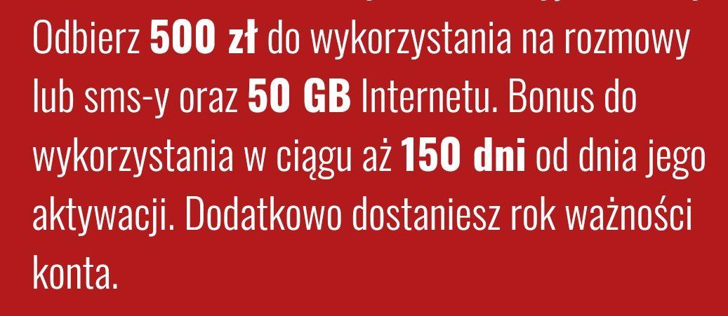 Fakt mobile - 503,50+71gb za 0zl