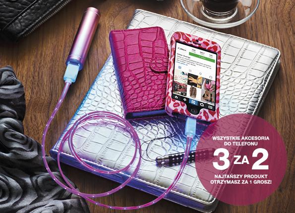 Akcesoria do telefonu - 3 w cenie 2 @ Glitter