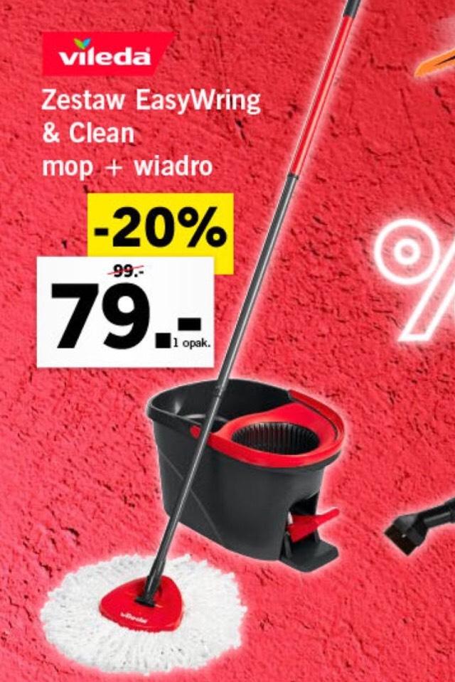 Mop Vileda Easy Wring&Clean 79zl Lidl i ultramax 59zł