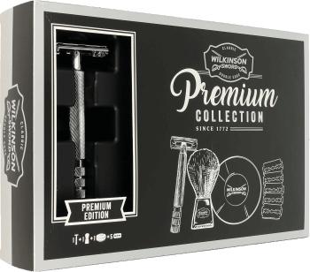 ROSSMANN: Zestaw Wilkinson Vintage Premium Collection Maszynka na żyletki + Pędzel + Mydło