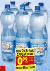 Woda mineralna Muszyna 1,5l @Biedronka