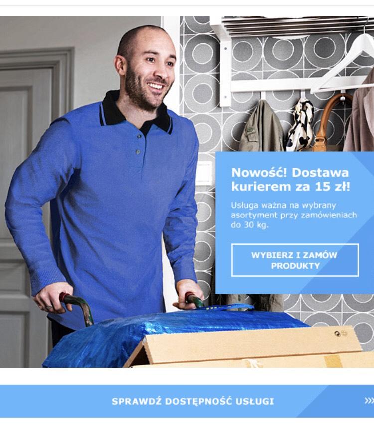 IKEA (w końcu!) wprowadza dostawę kurierem za 15zł!