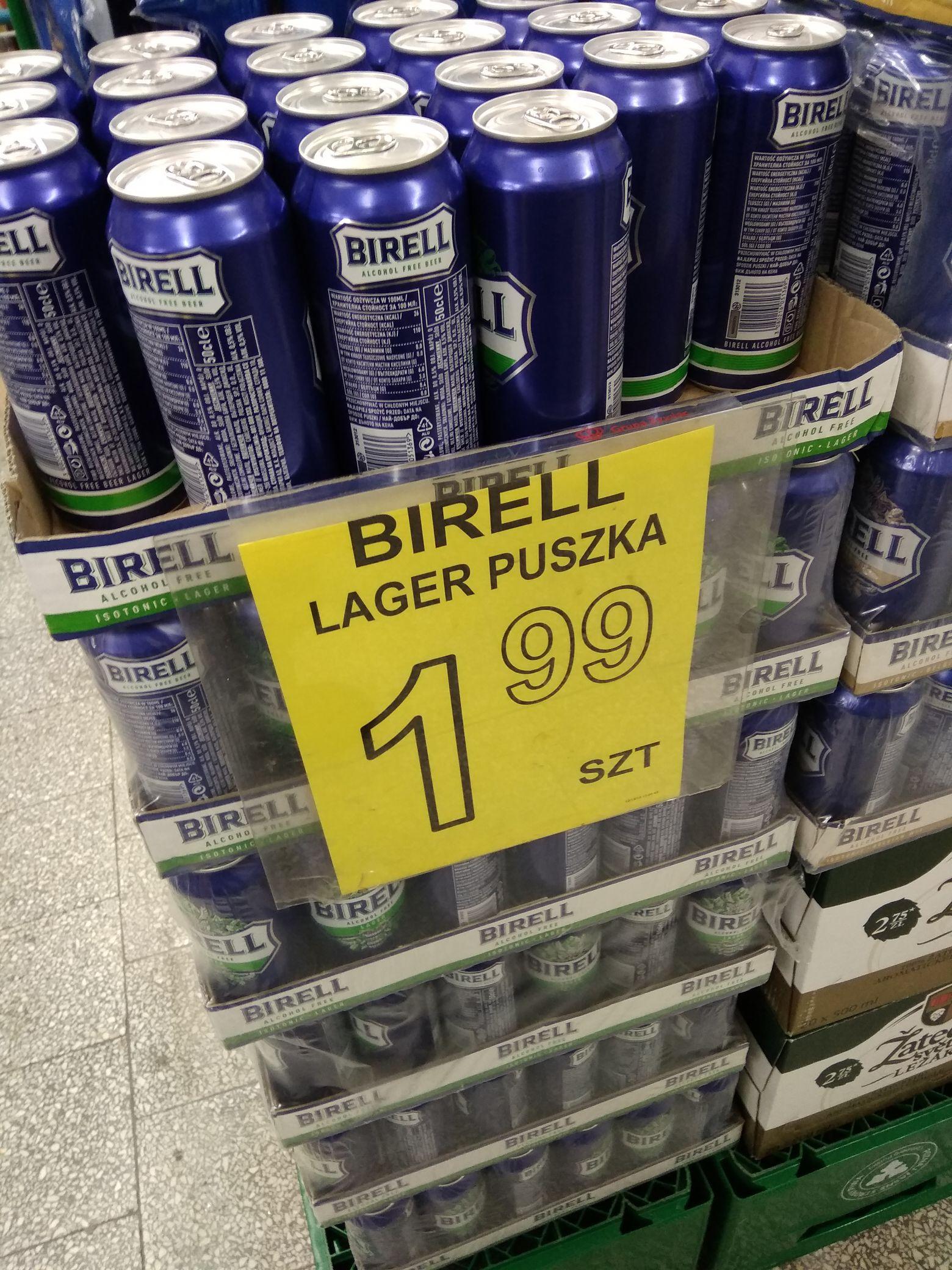 Birell napój piwny bezalkoholowy Warszawa Top Market lokalnie
