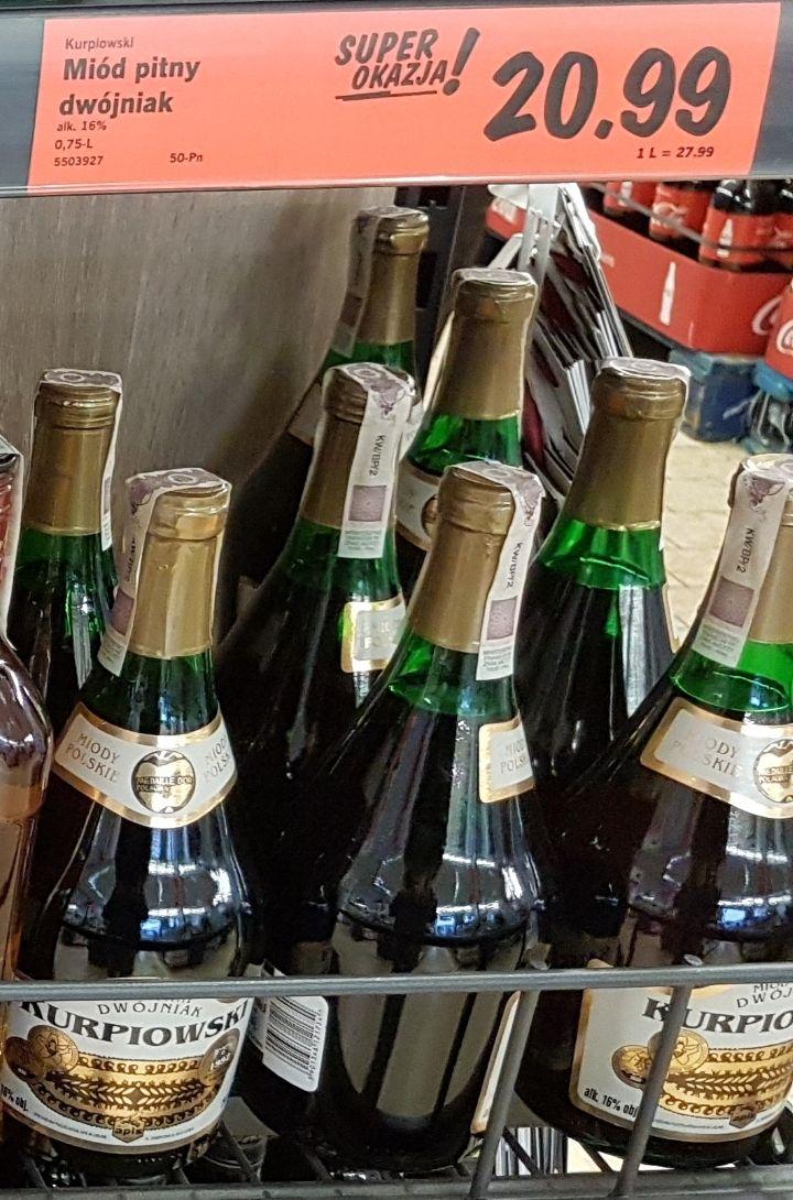 Miód pitny Dwójniak Kurpiowski 0,75L 16% @ Lidl