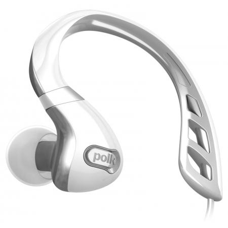 Polk Audio UltraFit 3000 - słuchawki dokanałowe sportowe uniwersalne z opcją sterowania Apple