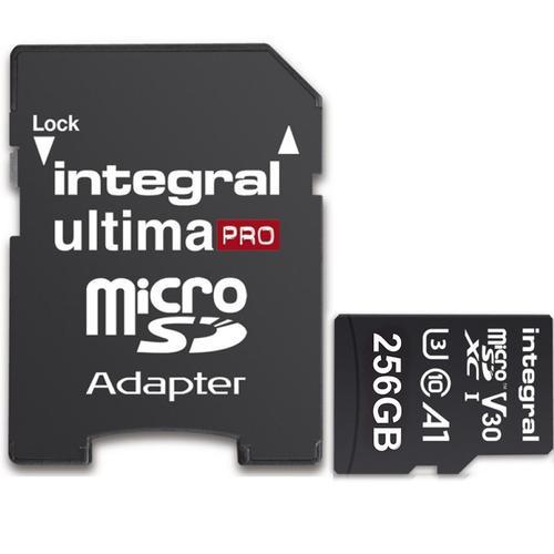 Karta Integral 256GB UltimaPRO V30 A1  142 zł  Mymemory