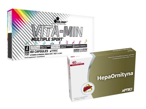 OLIMP Vita Min Multiple + APTEO Hepaornityna 40tab.