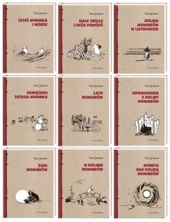 Komplet opowiadań o przygodach Muminków - 9 książek