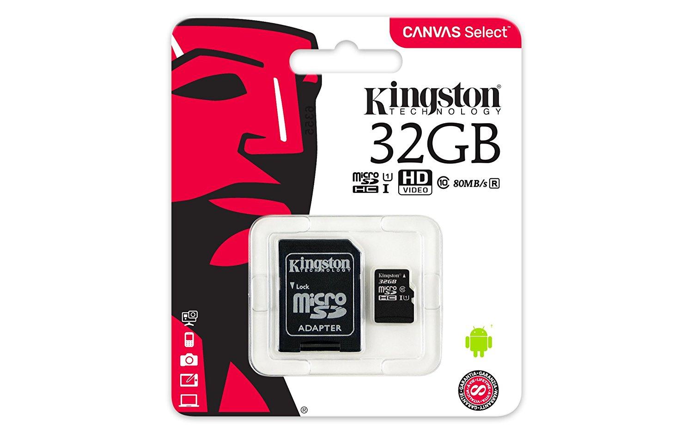 Karta pamięci Kingston 32GB SDHC micro sd class 10