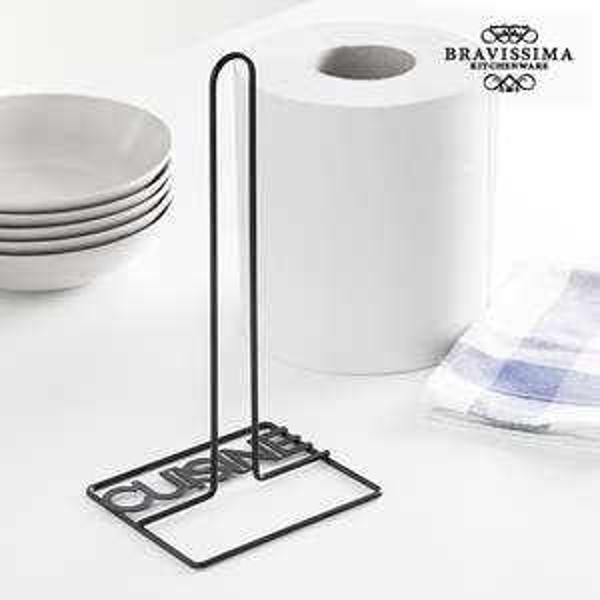 Stojak na ręczniki papierowe z napisem