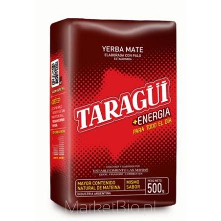 Yerba Mate Taragui Energia 500 G w marketbio.pl