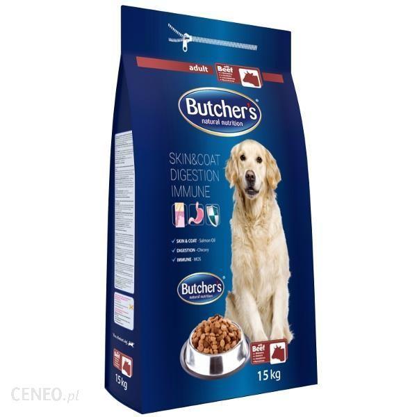 Karma dla psów Butchers z wołowiną 15kg w Auchan