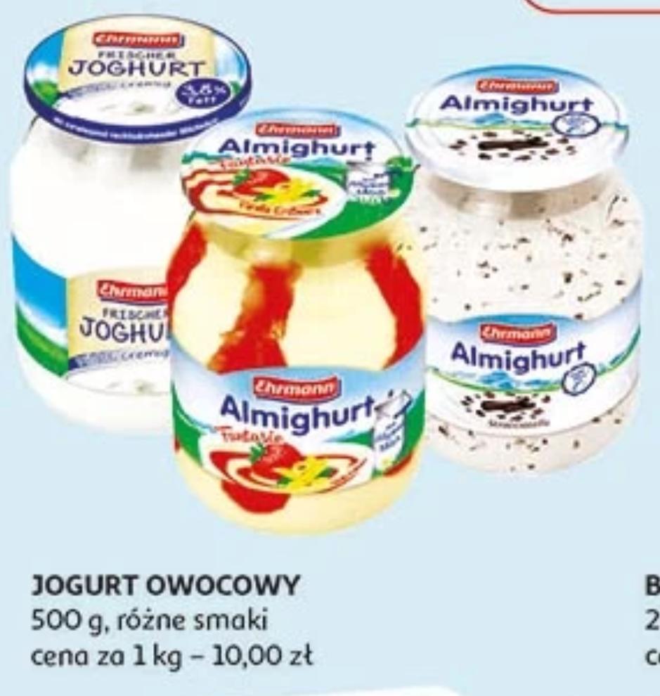 Almighurt 500g pyszny jogurt w słoiku. Auchan