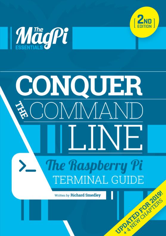 "Podręcznik ""Conquer the command line Raspberry Pi terminal guide"""