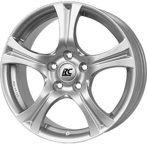 Felgi 15 cali 5x108 ET44 RC-Design RC14E RC D14 Silver 6.5x15