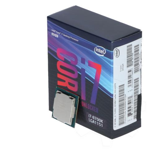 Intel Core i7-8700K 3,70GHz BOX